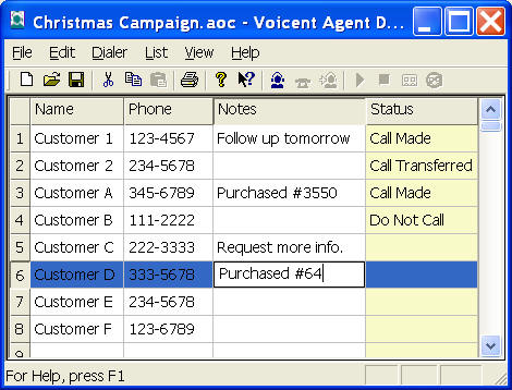 Voicent Predictive Dialer Screen shot