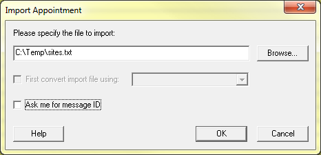 Import Window
