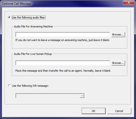 Predictive Message Options