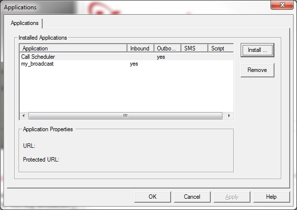 IVR Setup Application