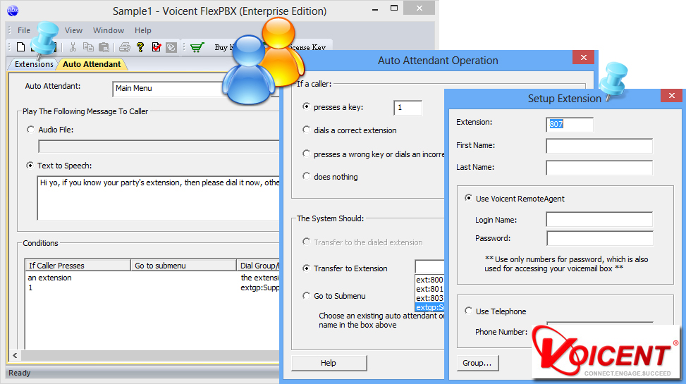 Voicent Flex PBX 8.4.1 full