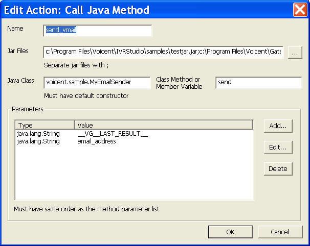 IVR Use Java to Send Voicemail To Email | Voicent
