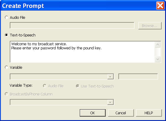 IVR Tutorial - Add Prompt