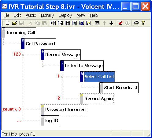Ivr Tutorial Update Ivr Call Flow