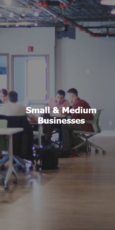 Small to medium businesses use Voicent